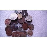Монеты разных стран, годов и состояния, 31 шт. распродажа