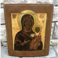 Икона Божией Матери Смоленская. Ковчег. 19 Век.