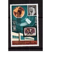 Дубай-1970 (Мих.387) ** , Спорт, футбол,космос