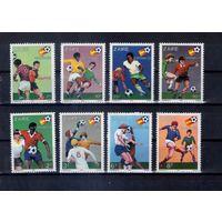 Футбол на марках Заира 13 михель-евро