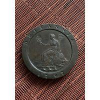 Великобритания 2 пенса 1797 г, колесо (4)