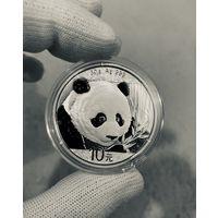 Монета ПАНДА Китая 2018, Серебро, 30g