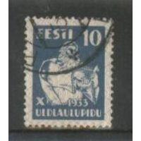 Эстония Х певческий праздник 10с 1933 г