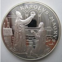 Андорра. 10 динеров (экю) 1996. Серебро. Пруф. 215