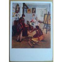 Прянишников И.М. В мастерской художника  1959 г.