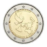 Монако 2 евро 2013    20 лет Монако в ООН