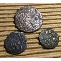 Монеты РИ  ++ Полушки Петра 1 ++