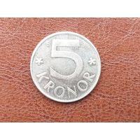 5 крон 2001 Швеция