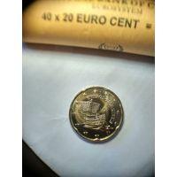 20 евроцентов Кипр 2013 год