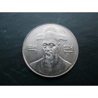 100 вон 2003 г. Южная Корея.