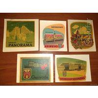 Картинки - наклейки производства ГДР