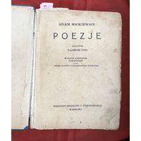 Поэзия Адам Мицкевич иллюстрированное издание 446 страниц