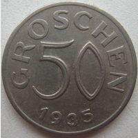 Австрия 50 грош 1935 г.