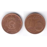 Латвия 1 евроцент 2014
