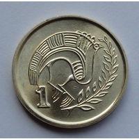Кипр 1 цент. 1998