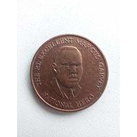 25 Центов 1996 (Ямайка)