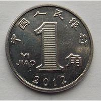 Китай 1 джао 2012