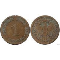 YS: Германия, Рейх, 1 пфенниг 1890A, KM# 10  (1)