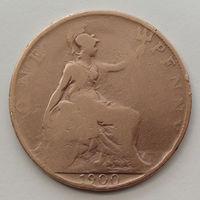 Великобритания 1 пенни. 1900