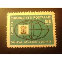 Турция 1960 эмблема дерево