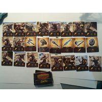 Карточки Гладиаторы пластиковые Читаз (Cheetos) (Cheetah). Некоторые еще не распакованы!