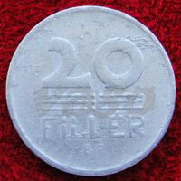 7118:  20 филлеров 1966 Венгрия