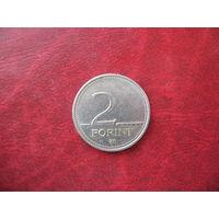 2 форинта 1997 года Венгрия