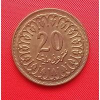 56-39 Тунис, 20 миллимов 1983 г.