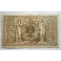 Германия. 1000 марок 1910г.