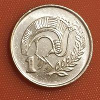 106-15 Кипр, 1 цент 1991 г.