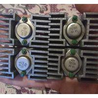 Транзисторы П213Б на радиаторах (комплект)