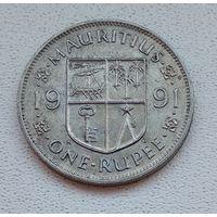 Маврикий 1 рупия, 1991 6-12-16