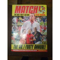 Матч книга о футболе на англ.языке