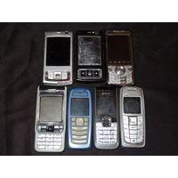 Мобильные телефоны Nokia 7 шт