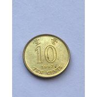 10 центов, 1997 г., Гонконг