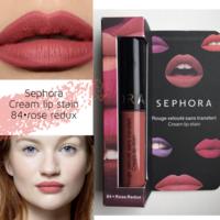 Sephora Cream Lip Stain помада в оттенке 84 rose redoux