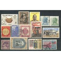Марки разных стран - 14 марок - гашёные (Лот 1В). Старт с 1 копейки! Без минималки!