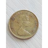 Гонконг 10 центов 1984г.