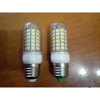 Светодиодная лампочка Led 69 SMD 5730  Е27 Е14 LED 220V 6000K