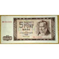 5 марок 1964г aUNC