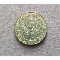 Центральная Африка 5 франков 2006 (BEAC 5 FRANCS)
