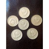 5 монет СССР
