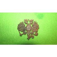 Царская кокарда двуглавый орел, на реставрацию(ПМВ)(Предлагайте цену)