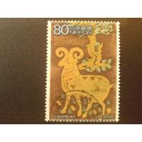 Япония 2003 Неделя филателии, искусство 8 век
