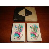 Игральные карты пасьянсные Рококо, 1975 г.