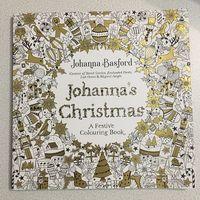Johanna's Christmas. A Festive Colouring Book (раскраска)