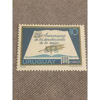 Уругвай 1972. 25 годовщина de los derechos civiles de la mujer
