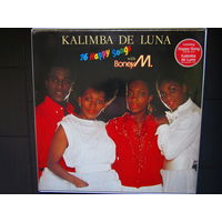 BONEY M - Kalimba De Luna - 16 Happy Songs 84 Hansa Germany EX/EX