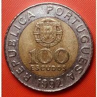 30-28 Португалия, 100 эскудо 1992 г.