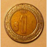 1 песо 1997 Мексика